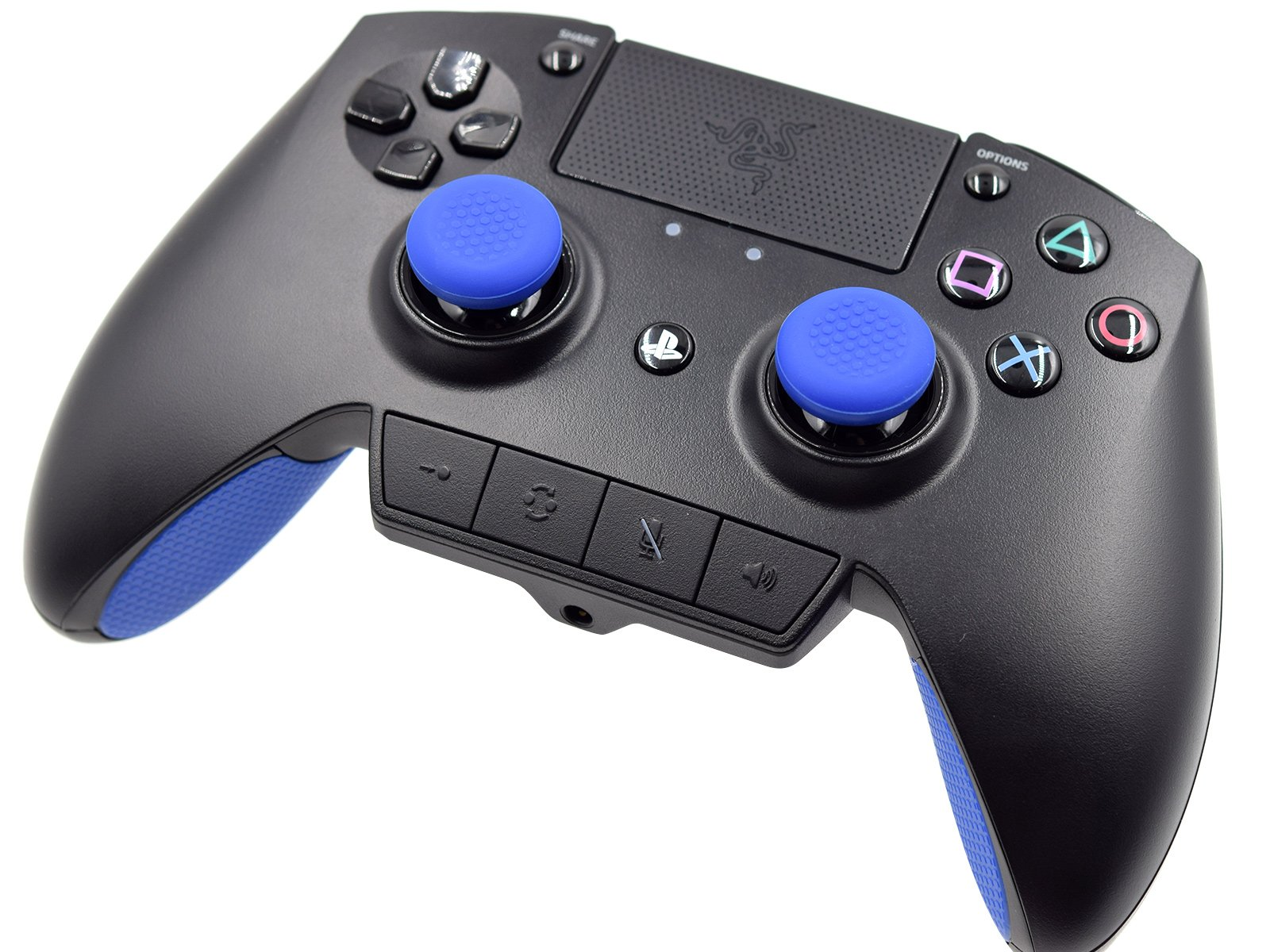 Razer Raiju PS4 Pro Controller - Front Side Up