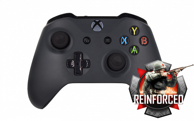 MegaModz Controller For Xbox One Compatible With COD WW2