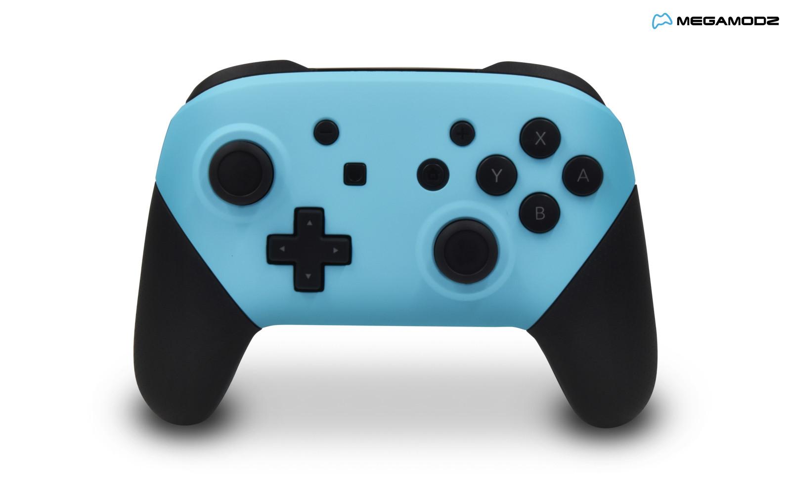 Nintendo Switch Pro Controller Heaven Blue Megamodz Com