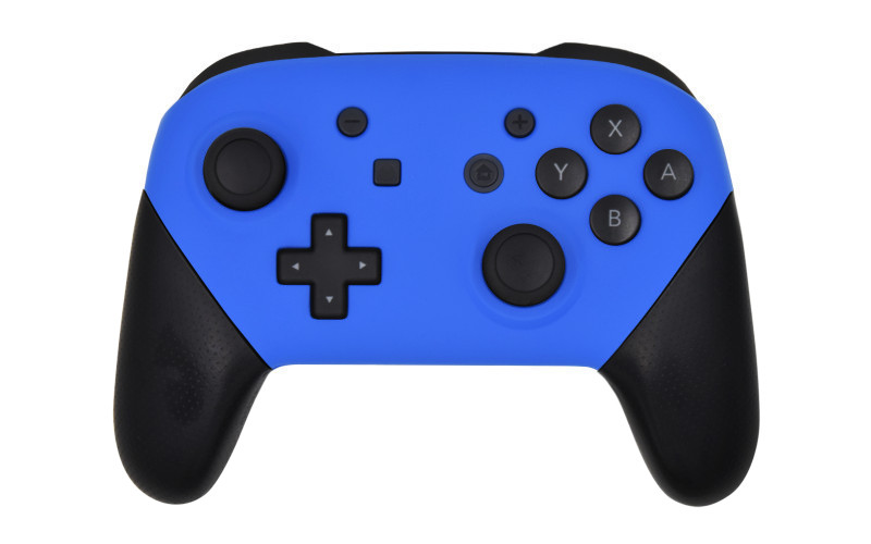 Custom Matte Blue Nintendo Switch Pro Controller
