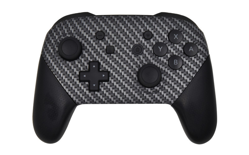 Custom Carbon Fiber Nintendo Switch Pro Controller