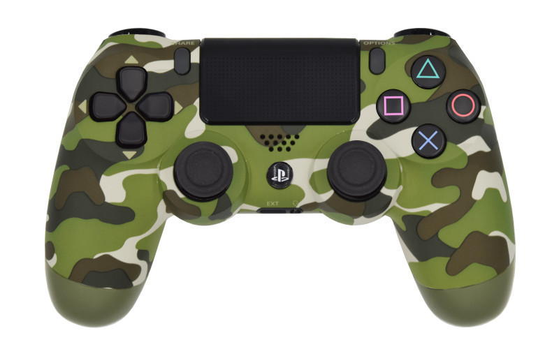 PS4 Pro Green Camo Modded Controller