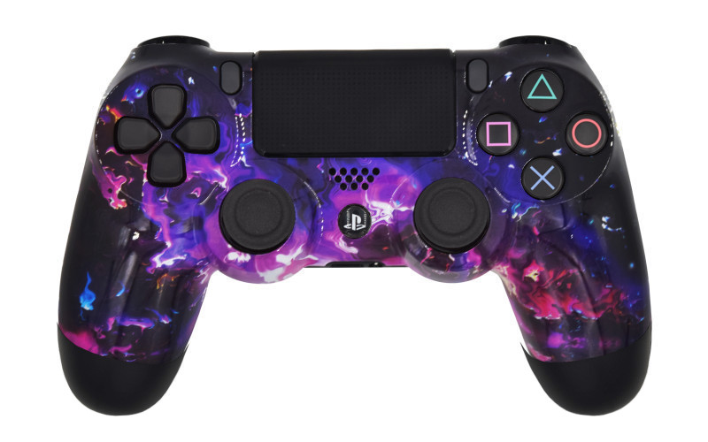 PS4 Pro Dark Matter Custom Modded Controller