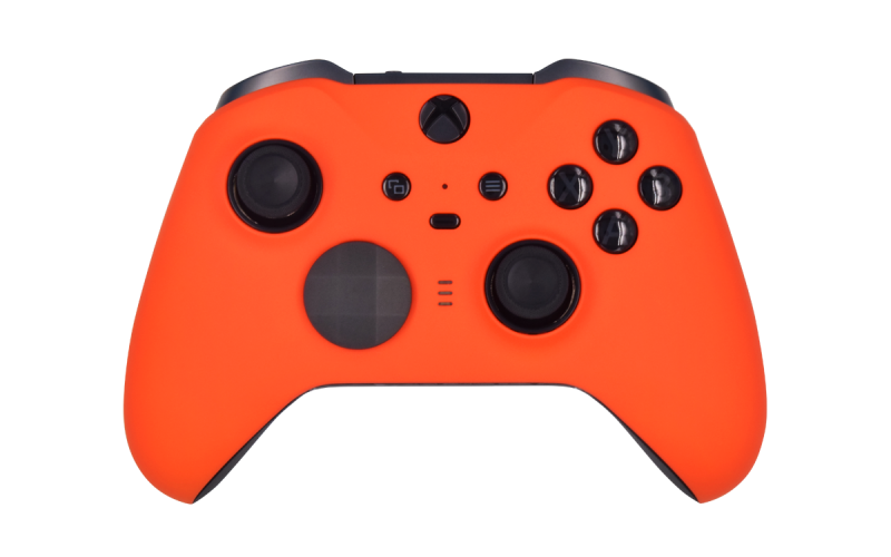 Custom Matte Orange Xbox Elite 2 Controller