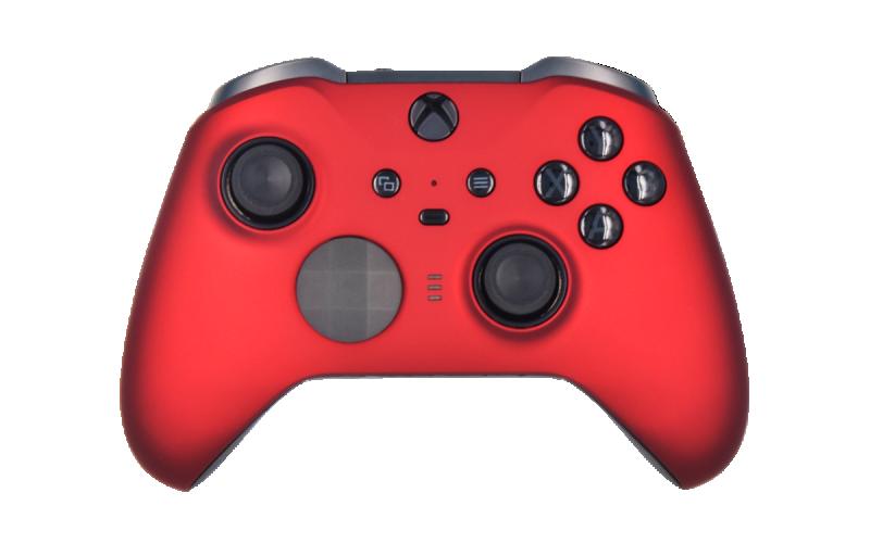 Custom Matte Red Xbox Elite 2 Controller