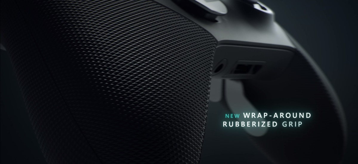 Xbox Elite 2 - Wrap-Around Rubberized Grip