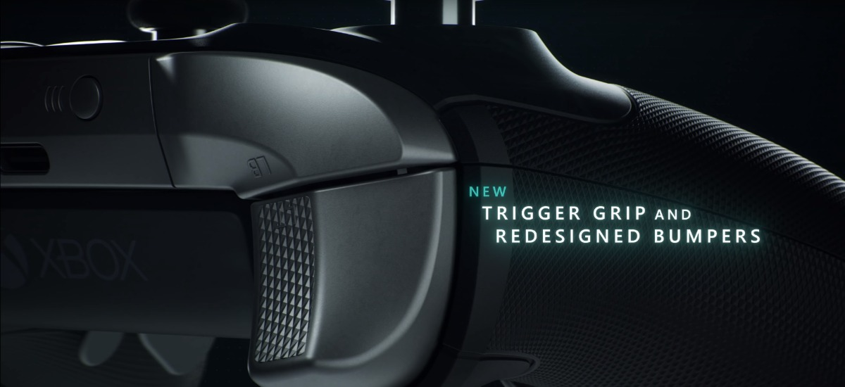 Xbox Elite 2 - Trigger Grip and Redesigned Bumpers