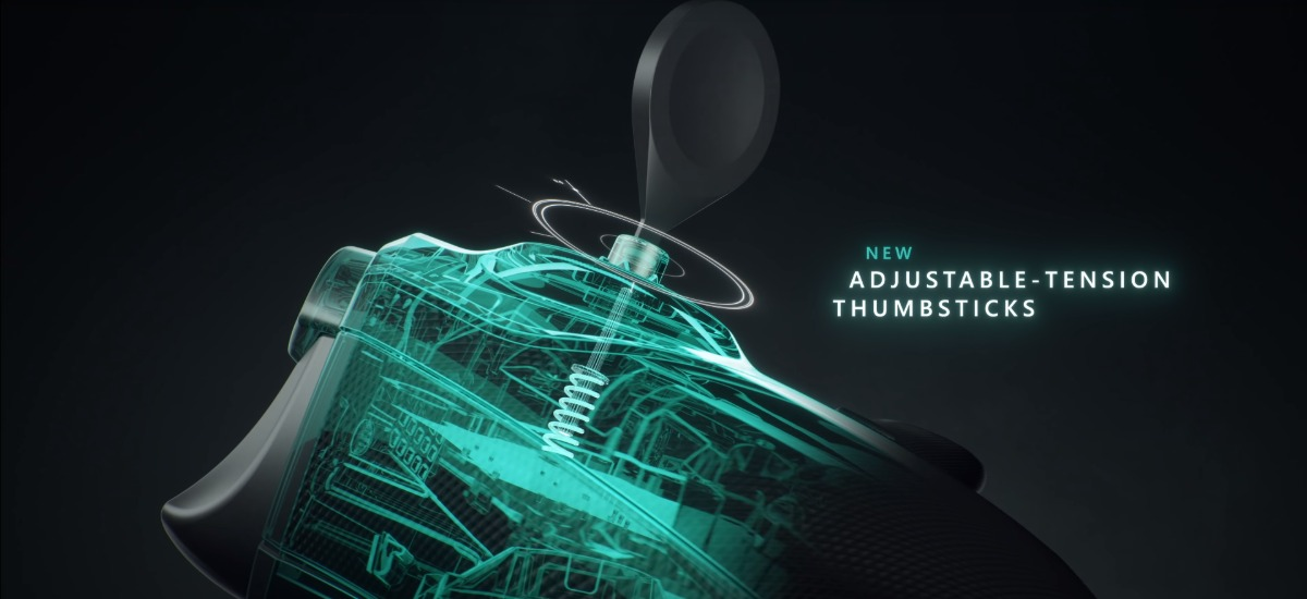 Xbox Elite 2 - Adjustable-tension thumbsticks