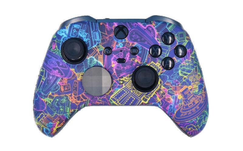 Custom Many Worlds Xbox Elite 2 Controller