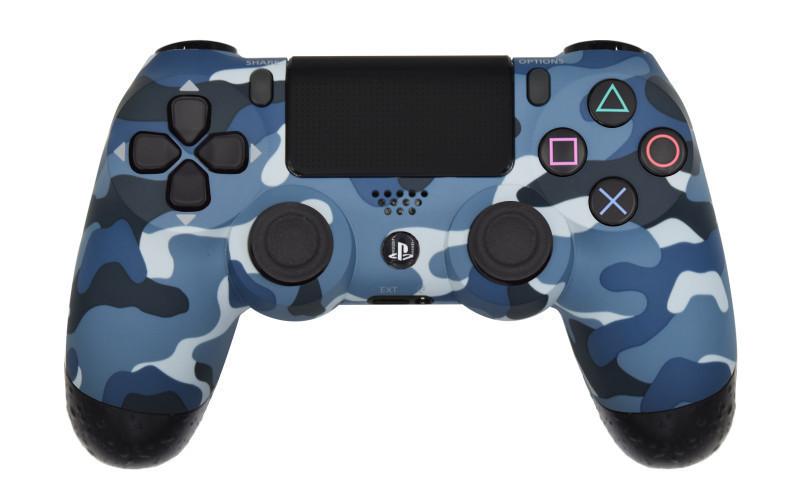 Mega Modz Macro Master PS4 Controller - Blue Camo