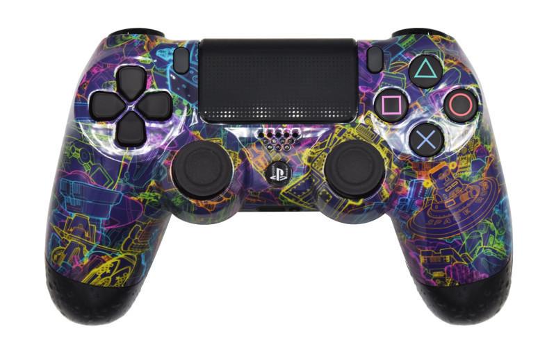 Mega Modz Macro Master PS4 Controller - Many Worlds