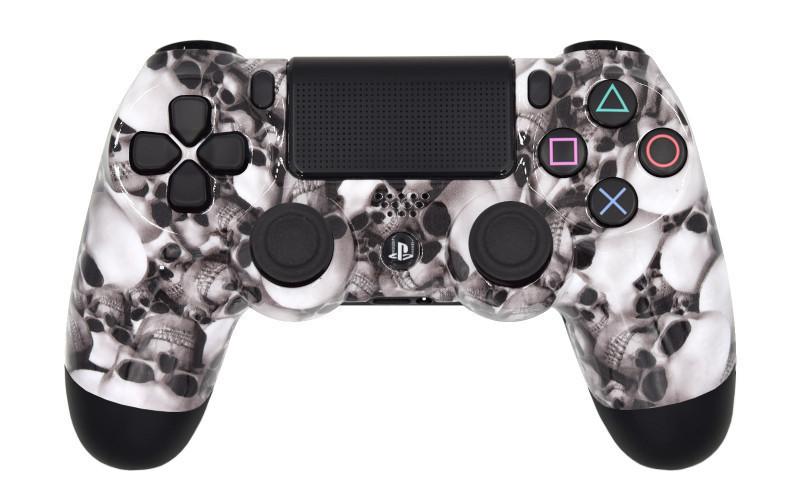 PS4 Pro Skulls Custom Modded Controller