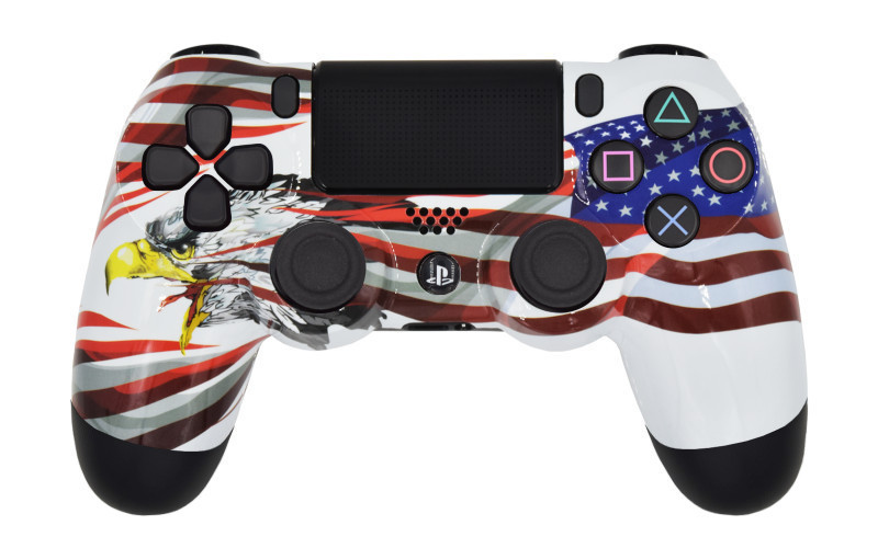 PS4 Pro American Eagle Custom Modded Controller